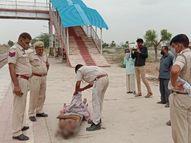 52 वर्षीय अधेड़ ने मालगाड़ी के सामने कूदकर दे दी जान, कई दिनों से था परेशान राजस्थान,Rajasthan - Dainik Bhaskar