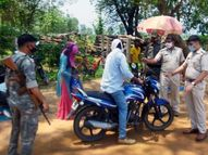 झारखंड में सड़क पर हर आने-जाने वालों से मांगा जा रहा ई-पास, बाजारों में दिखी कम भीड़; बॉर्डर पर भी पुलिस तैनात|रांची,Ranchi - Dainik Bhaskar