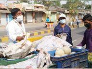 6 क्विंटल फल व सब्जी जब्त, मेडिकल काॅलेज व कालिकामाता अन्नक्षेत्र भेजा रतलाम,Ratlam - Dainik Bhaskar