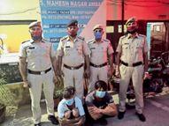 साइंस काराेबारी के सिर पर राॅड से हमला करने वाले दाेनों चाेर गिरफ्तार|अम्बाला,Ambala - Dainik Bhaskar