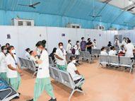 28.79 कराेड़ से एचएसआरडीसी ने 18 दिन में तैयार किया 500 बेड वाला अस्पताल, आज से शुरू होंगी सेवाएं, मुख्यमंत्री करेंगे लाेकार्पण|हिसार,Hisar - Dainik Bhaskar