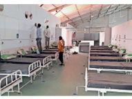 300 ऑक्सीजन बेड के साथ कोविड अस्पताल का पहला ब्लॉक आज से शुरू|पानीपत,Panipat - Dainik Bhaskar