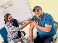 18 प्लस की साढ़े 8 लाख आबादी काे लगने है टीके, अभी करीब 1.49 लाख काे ही लगे|पानीपत,Panipat - Dainik Bhaskar