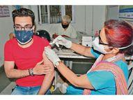 बर्बाद टीकों की डिटेल खंगालेगा विभाग, 4 हजार नई डोज भी मिली, 1602 लोगों ने लगवाई पहली डोज|रोहतक,Rohtak - Dainik Bhaskar