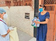 हाेम आइसोलेट मरीजों को मेडिकल किट वितरण के लिए 22 वार्डों में 23 टीम गठित|रोहतक,Rohtak - Dainik Bhaskar