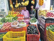 फलों की कीमतों में उछाल, संतरे बाजार से हो गए गायब|झुंझुनूं,Jhunjhunu - Dainik Bhaskar