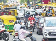 सब्जी मंडी व अपर बाजार में फिर बढ़ रही भीड़, लापरवाही से बढ़ने लगे कोरोना मरीज|रांची,Ranchi - Dainik Bhaskar