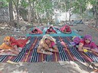 आदिवासी क्षेत्रों में अजीब अफवाह, टीका लगने के बाद विकलांग हो सकते हैं, बच्चे भी नहीं होंगे|पाली,Pali - Dainik Bhaskar