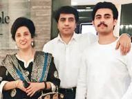 32 दिन में उजड़ा परिवार, पति-प्रोफेसर पत्नी और बेटे की मौत, सिर्फ बहू बची|देश,National - Dainik Bhaskar