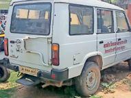 9 हजार के दो टायर नहीं बदले, 3 माह से अस्पताल में खड़ी 10 लाख की एंबुलेंस|जमशेदपुर,Jamshedpur - Dainik Bhaskar