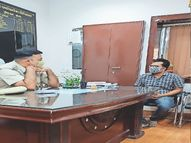 सोशल साइट पर शाम 5.15 बजे तय किया खुदकुशी का समय, नींद की गोलियां खाई...पुलिस ने समय रहते बचा ली जान|बीकानेर,Bikaner - Dainik Bhaskar