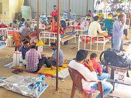 मरीज काे पीने के लिए पानी चाहिए या शाैच जाना हाे ताे अस्पताल कर्मियों को देना पड़ता है नजराना|पटना,Patna - Dainik Bhaskar
