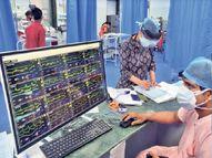 सांसों की लड़ाई में जिंदगी जीत रही; स्क्रीन पर एक साथ चलती दिखी 16 लाइफ लाइन|देश,National - Dainik Bhaskar