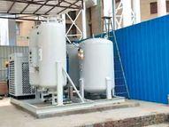 गंभीर संकट के बावजूद एसकेएमसीएच में ऑक्सीजन प्लांट लगाने की गति सुस्त|मुजफ्फरपुर,Muzaffarpur - Dainik Bhaskar