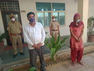 खफा पति पर महिला ने जीजा के साथ मिलकर बेटी से दुष्कर्म का लगाया आरोप, परेशान होकर पति ने किया सुसाइड, जीजा-साली गिरफ्तार|सीकर,Sikar - Dainik Bhaskar