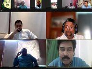 विपक्षी नेताओं से वर्चुअल मीटिंग में तेजस्वी ने कहा- 15 वर्षों में सरकारी पैसे से कितने एंबुलेंस खरीदे, स्टेटस रिपोर्ट दें|पटना,Patna - Dainik Bhaskar