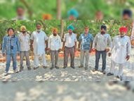 कृषि कानूनों को रद्द करवाने के लिए 17 से 20 तक डीसी दफ्तर के आगे मजदूर करेंगे प्रदर्शन|कपूरथला,Kapurthala - Dainik Bhaskar