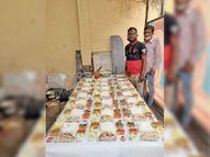 कोविड मरीज व अटेंडेंट को पौष्टिक भाेजन कराने रोज भेज रहे 200 सेवा थाली जशपुर,Jashpur - Dainik Bhaskar