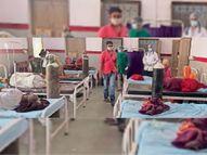 बड़े अस्पतालाें में बेड नहीं मिले ताे यहां आ रहे पड़ोसी जिलाेें के मरीज, पर्याप्त ऑक्सीजन से बच रही सांसें|चित्तौड़गढ़,Chittorgarh - Dainik Bhaskar