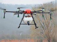 ऐसा ड्रोन बनाया जिससे एक मिनट में 100 लोगों और 500 मीटर एरिया का सेनेटाइजेशन भी कर सकते हैं|भीलवाड़ा,Bhilwara - Dainik Bhaskar