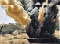 सूरतगढ़ में 2 दिन में 6 बम मिले, 2 डिफ्यूज किए|श्रीगंंगानगर,Sriganganagar - Dainik Bhaskar