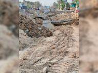 सूरतगढ़ राेड पर 83 दिन से चल रहा सीवरेज लीकेज दुरुस्तीकरण का काम हुआ पूरा, लोगों को मिलेगी राहत|श्रीगंंगानगर,Sriganganagar - Dainik Bhaskar
