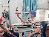 15 दिन में मिले ब्लैक फंगस के 8 मरीज, 2 की मौत, क्योंकि इसके इलाज के साधन नहीं खरगोन,Khargone - Dainik Bhaskar