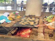 900 मरीजों को खाना; ऑन डिमांड काढ़ा-फल-ड्राईफ्रूट्स पहुंचाते हैं, एक ही जज्बा...हर चेहरे पर मुस्कान हो|जयपुर,Jaipur - Dainik Bhaskar