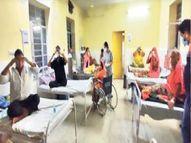 अजमेर के दांतड़ा में सरपंच कैमरे से निगरानी कर रहे, जोधपुर के बिलाड़ा में योग करा रहे हैं डॉक्टर|जयपुर,Jaipur - Dainik Bhaskar