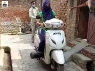 उत्तरप्रदेश के शाजापुर की 26 वर्षीय अर्शी कोरोना मरीजों को मुफ्त में बांट रही ऑक्सीजन सिलेंडर, अपने पिता की बीमारी के बाद शुरू किया ये नेक काम लाइफस्टाइल,Lifestyle - Dainik Bhaskar