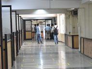 25 दिन बाद खुले रजिस्ट्री दफ्तर, 45 मिनट का काम 20 मिनट में ही निपटा; दिनभर में 70 रजिस्ट्रियां हुईं|भोपाल,Bhopal - Dainik Bhaskar
