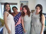प्रेग्नेंसी के कयासों के बीच सामने आई TMC सांसद नुसरत जहां की बेबी बम्प फ्लॉन्ट करती फोटो, निखिल बोले- बच्चा मेरा नहीं|बॉलीवुड,Bollywood - Dainik Bhaskar