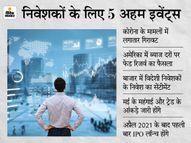 शेयर बाजार में बना रहेगा खरीदारी का सेंटीमेंट; निवेशकों को मिलेंगे 4 IPO में निवेश के मौके, घरेलू आर्थिक आंकड़ों पर भी होगी नजर इकोनॉमी,Economy - Money Bhaskar