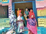 पानी नहीं मिलने से गुस्साई महिलाओं ने बर्तन बजा-बजा कर जताया विरोध|झाबुआ,Jhabua - Money Bhaskar
