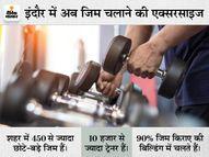 इंदौर में जिम खुले पर मेंबर्स में कॉन्फिडेंस लाना बड़ी चुनौती, किराया नहीं भर पाने से कई पर लटक गए ताले, उबरने में 6 महीने लग सकते हैं|इंदौर,Indore - Money Bhaskar