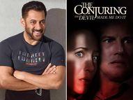पिता सलीम खान की डॉक्युमेंट्री प्रोड्यूस करेंगे सलमान खान, 2 जुलाई को भारत में रिलीज होगी 'द कॉन्ज्यूरिंग : द डेविल मेड मी डू इट' बॉलीवुड,Bollywood - Dainik Bhaskar