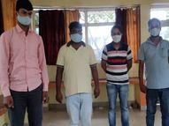 सिद्धार्थनगर में 23 लाख रुपए के एंटीजन किट के साथ पकड़े गए हेल्थ वर्कर, खुलासे से पटना तक मचा हड़कंप पटना,Patna - Money Bhaskar