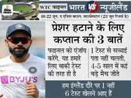 इंडियन कैप्टन ने कहा- 5 दिनों के अंदर बेस्ट टीम का फैसला नहीं हो सकता, फाइनल हमारे लिए एक नॉर्मल टेस्ट मैच की तरह|क्रिकेट,Cricket - Dainik Bhaskar