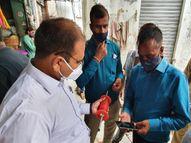 उदयपुर में ADM सिटी औचक निरीक्षण पर पहुंचे बाजार, चाइनीज मांझा खरीदने वाले युवक के खिलाफ दर्ज कराई FIR|राजस्थान,Rajasthan - Money Bhaskar