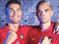 यूरो कप के दौरान पेपे की फोटो खींचते नजर आए पुर्तगाली कप्तान, कैमरामैन को चिढ़ाते हुए कहा- मैं तुमसे बेहतर हूं; देखें VIDEO|स्पोर्ट्स,Sports - Money Bhaskar