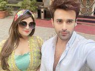 एक्टर की दोस्त रश्मि आर्या ने बताया-जमानत मिलने के बाद भी सदमे में हैं पर्ल पुरी|टीवी,TV - Dainik Bhaskar