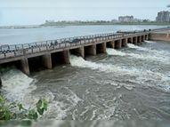तापमान में 4 डिग्री की बढ़ोतरी, दो दिन कम बारिश का अनुमान, कॉजवे के 5 गेट खोले गए|गुजरात,Gujarat - Money Bhaskar