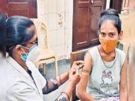 7 दिन में 2 लाख टीके लगाने का लक्ष्य, शनिवार को लगे 9 हजार से ज्यादा टीके|जबलपुर,Jabalpur - Money Bhaskar