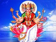 धरती पर मौजूद हर जीव में प्राण शक्ति के रूप में है मां गायत्री, इनके पांच मुख पंचतत्वों के प्रतीक हैं|धर्म,Dharm - Dainik Bhaskar