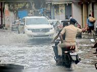 मिठनपुरा, बीबीगंज, माेतीझील में घर से दुकानों तक घुसा पानी; निगम ने बारिश हाेने तक खड़े किए हाथ|मुजफ्फरपुर,Muzaffarpur - Money Bhaskar
