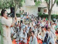 वेतन न मिलने से नाराज निगम कर्मचारियों ने कामकाज बंद कर की हड़ताल|फरीदाबाद,Faridabad - Money Bhaskar