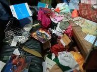 नालंदा में शादी समारोह में गया था केयरटेकर, 2 दिन से बंद पड़े घर में घुसे चोर; कैश व जेवर समेत 5 लाख की चोरी|बिहार,Bihar - Money Bhaskar