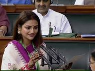 बीजेपी की सांसद ने लोकसभा स्पीकर से की मांग, शादी के बारे में झूठ बोलने पर लिया जाए नुसरत के खिलाफ एक्शन|बॉलीवुड,Bollywood - Money Bhaskar