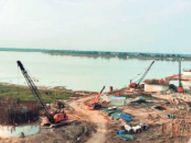 मोकामा में बन रहे डबल रेल लाइन वाले ब्रिज की धीमी हुई रफ्तार, अब दिसंबर 23 तक की डेडलाइन|पटना,Patna - Money Bhaskar