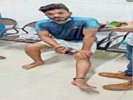 जो थानेदार पर लगा रहा विपक्षियों के साथ होने का आरोप, उसपर भी दर्ज हैं चार केस|भागलपुर,Bhagalpur - Money Bhaskar